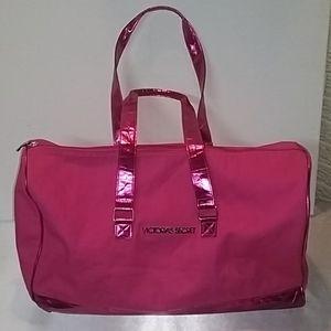 Victoria's Secret Canvas Duffle Bag